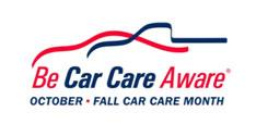 fall car care month - october